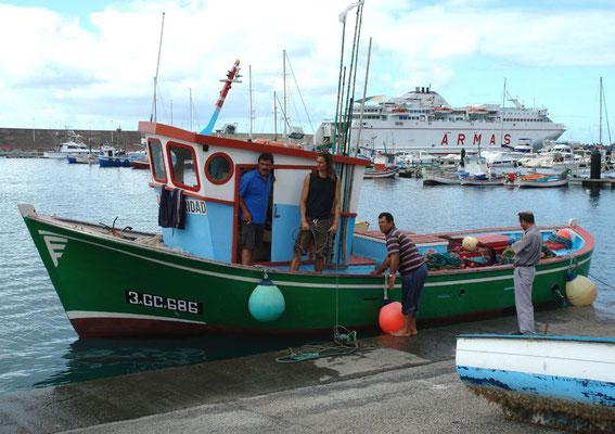 Morro Jable, Fischer-, Fähr- und Yachthafen