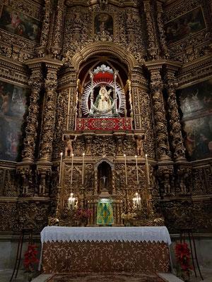 Seitenaltar in der Kathedrale La Laguna (Capilla de la Virgen de Los Remedios)