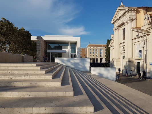 Museo dell'Ara Pacis von Richard Meier, 2006