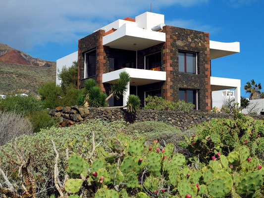 Moderne Ferienarchitektur in La Caleta