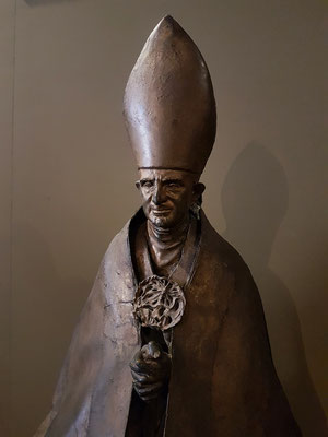 Lello Scorcelli (1921-1997): Papst Paul VI, Bronze