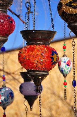 Orientalische Mosaik-Glas-Lampen