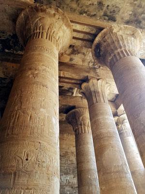 Säulen der Vorhalle (Pronaos)