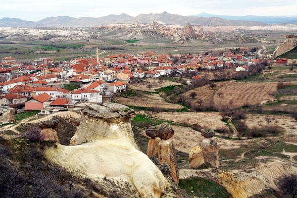 Neue Ortschaft Çavuşin