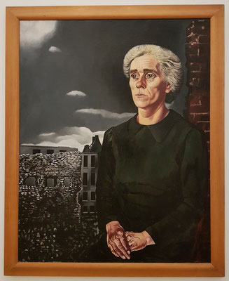 Charley Toorop: Working-Class Woman, Öl auf Leinwand, 1943