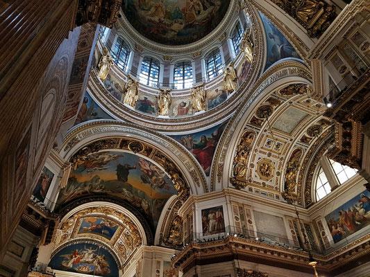 Isaakskathedrale, Blick in die Kuppel