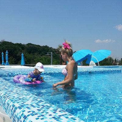 Hotel Nemo, Pool auf dem Dachgarten