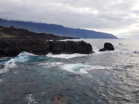 El Golfo, Blick von Punta Grande nach Westen