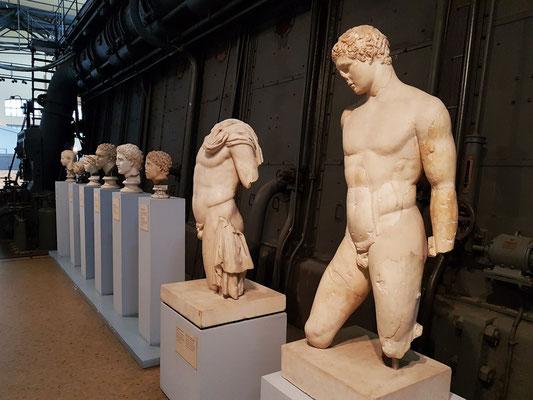 Statue des Diskusträgers, Kopie eines griechischen Originals der Polycletan School, dem Bildhauer Naukydes zuzuschreiben, spätes 5. bis frühes 4. Jh. v.Chr.