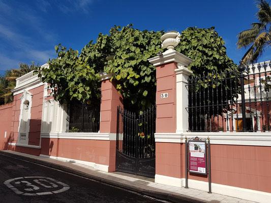 Casa de los Marqueses del Sauzal y Ermita de Franchy, Haus der Markgrafen von Sauzal, ein eklektisches Haus von 1910