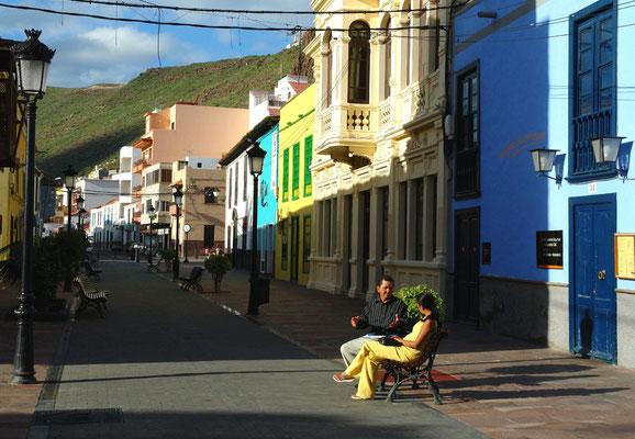San Sebastián, Calle Real, Blick nach NW