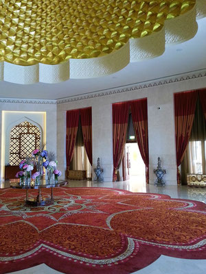 Shangri-La's Barr Al Jissah Resort & Spa, Eingangshalle