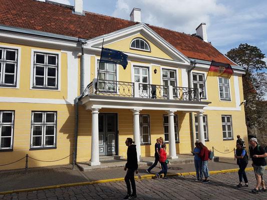 Deutsche Botschaft in der Oberstadt