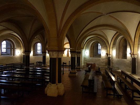 Trier. Ostkrypta der Domkirche unter dem Chor, spätromanisch