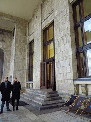 Kulturpalast, Ausgang zur Aussichtsplattform