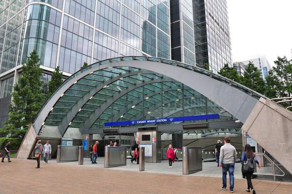U-Bahn Haltestelle Canary Wharf
