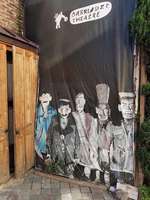Rezo Gabriadze Marionetten-Theater in der Joane Shavteli Street