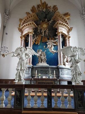 Barocke Erlöserkirche (Vor Frelsers Kirke), Altar