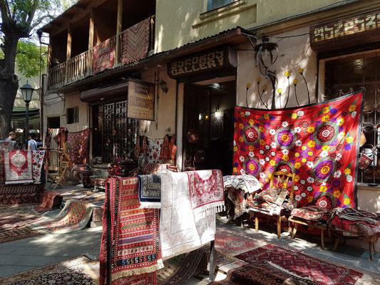 In der Altstadt von Tbilisi