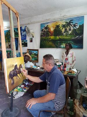 Camagüey, Autodidaktischer Maler