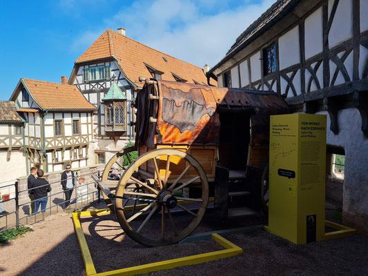 Von Worms nach Eisenach. Luthers Weg auf die Wartburg (Reisewagen)