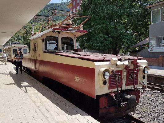 Ankunft in Borjomi