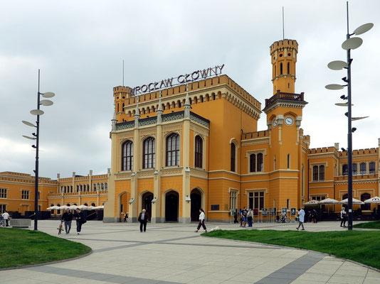 Bahnhofsgebäude Breslau (Wroclaw Glowny)
