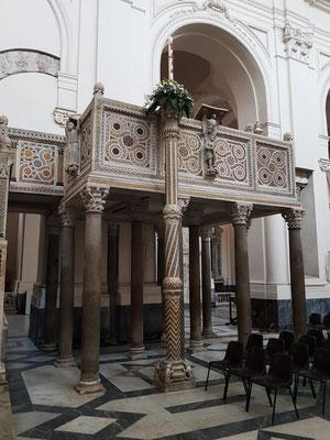 Kathedrale von Salerno, Kanzel