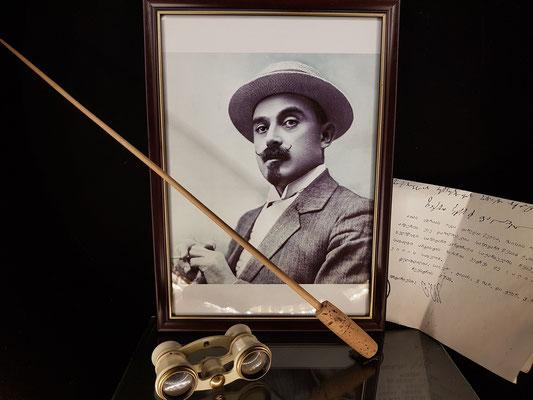 Dirigent und Komponist Sacharia Paliaschwili (1871 - 1933)