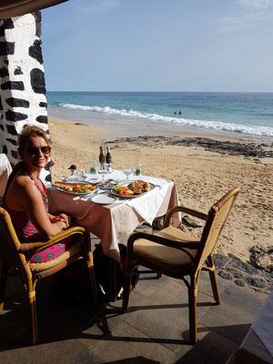 Restaurante Laja de Morrojable, Blick von der Terrasse