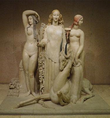 Museu Calouste Gulbenkian; Alfred-Auguste Janniot: Der Frühling oder Hommage an Jean Goujon, 1919-24