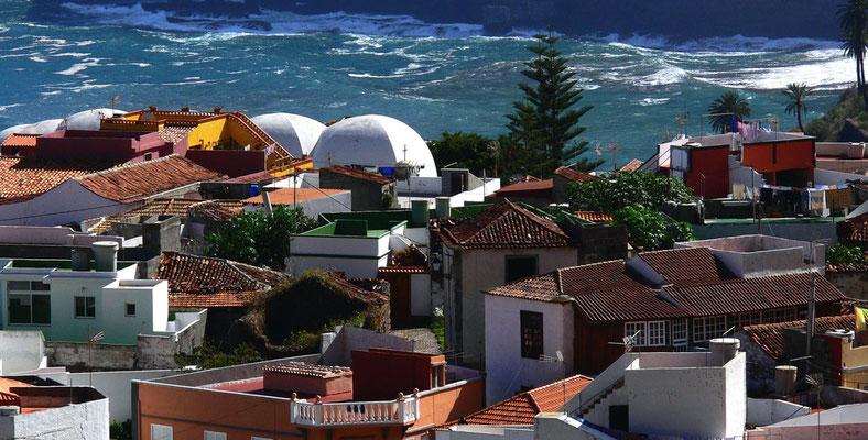 Blick über die Dächer von Agulo