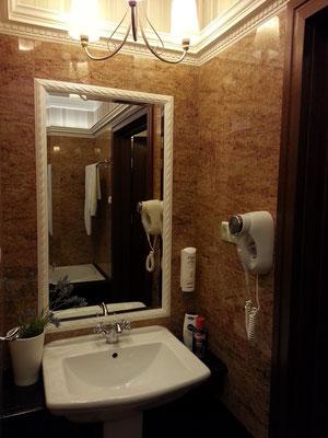 Deluxe Double/ Twin Room GREEN, Waschbecken