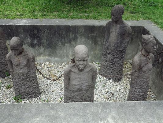 Skulpturengruppe zur Erinnerung an den Sklavenhandel