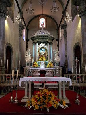 Iglesia de Nuestra Señora de la Concepción, Altarraum