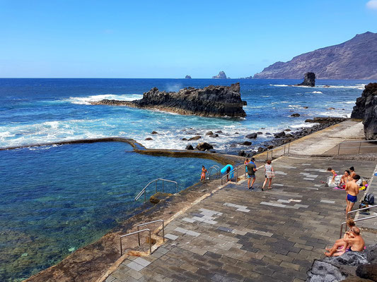 Baden an der Playa la Maceta