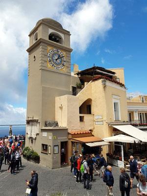 Uhrturm auf der Piazzetta