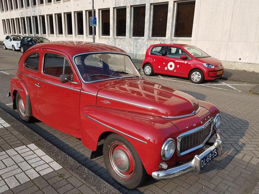 Volvo-Oldtimer, Buckelvolvo (Volvo P 544 aus den 1950er Jahren)