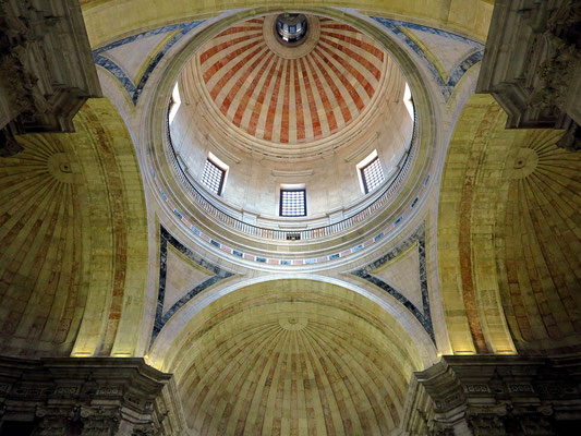 National Pantheon (Panteão Nacional), Kuppelgewölbe