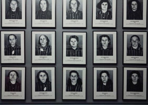 Ausstellung mit Häftlingen aus der Tschechoslowakei (Ausschnitt)
