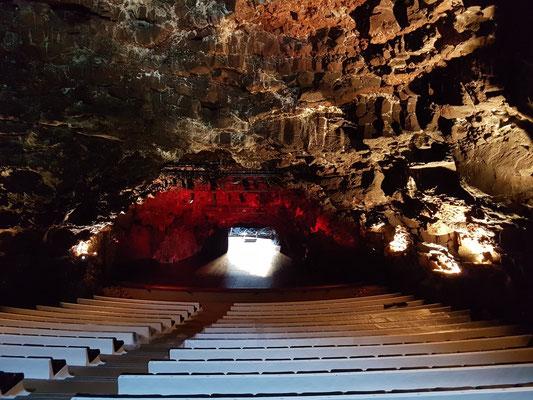 Konzertsaal in Jameos del Agua