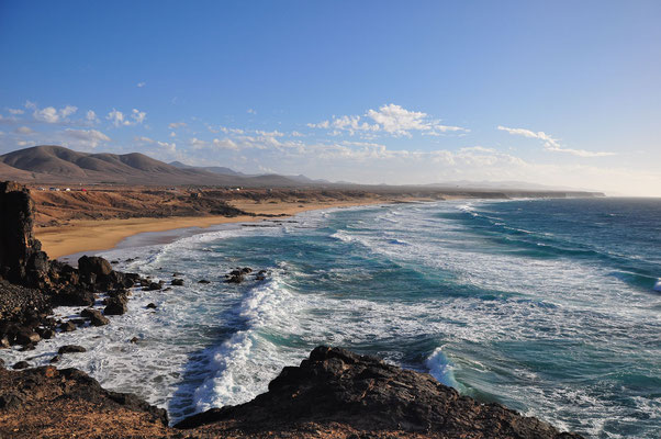 Sandstrand südlich von El Cotillo
