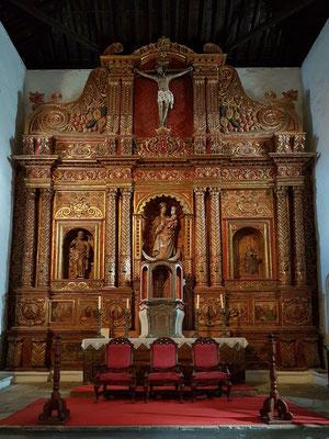 Betancuria, Iglesia de Santa María Betancuria, Hauptaltar