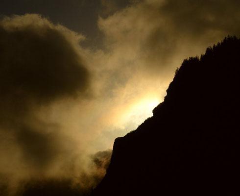 Sonnenuntergang am Roque de Agando