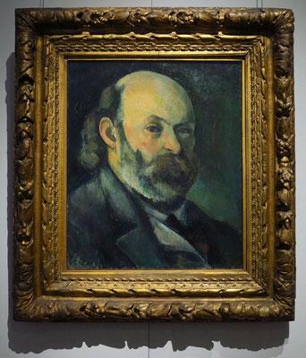 "Paul Cezanne (1839 - 1906): ""Selbstbildnis"", um 1882/1885"