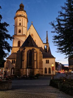 Thomaskirche am Abend