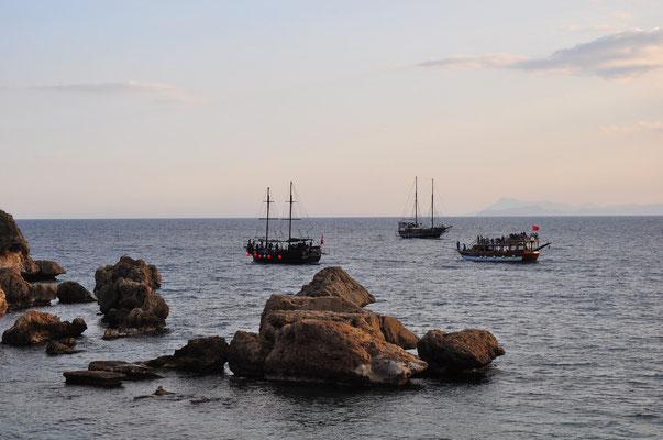 Ausflugsboote von Antalya