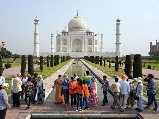 Taj Mahal. Blick vom Eingangstor