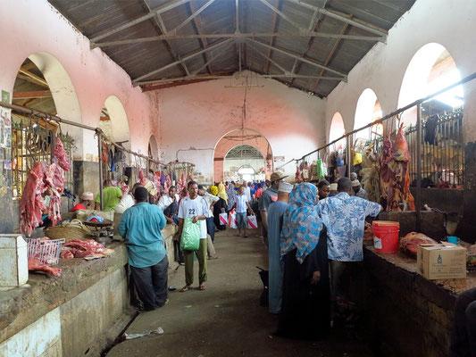 Darajani-Markt. Fleischhalle von 1904