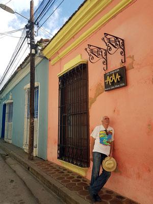 In einer Straße von Santiago de Cuba